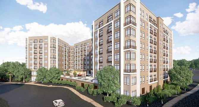 "The redevelopment plans for a new Lake Anne House approved by the Fairfax County Board of Supervisors on Oct. 16 ensures 240 apartments will remain affordable there for the next 30 years. The old buildings will be replaced with an eight-story, 200,000-square-foot, ""H""-shaped apartment buildings."