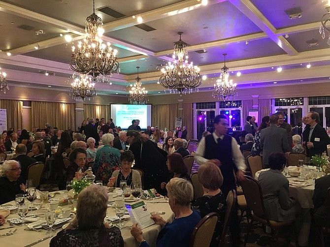 On Sunday, Oct. 21, 250 people attended the Shepherd's Center's 20th anniversary gala.