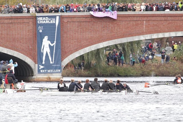 The Old Dominion Boat Club competed last weekend in the 54th annual Head of the Charles.
