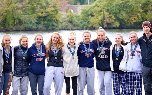 ODBC's women's freshman eight rowed to a third-place finish with a time of 15:52.262.
