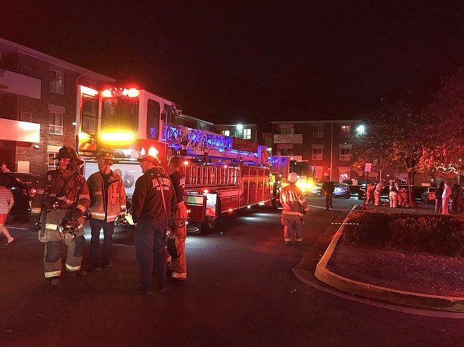 Fire Investigators determined that the fire was accidental in nature and started in the kitchen of an apartment.
