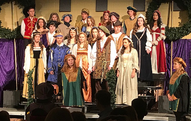 Langley's Madrigals, as well as its Chamber, Select Treble, Treble, and Concert choirs, will perform traditional carols from France, Germany, and Italy.