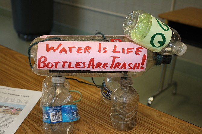 Plastic bottles are part of the concern at an environmental meeting in Mount Vernon.