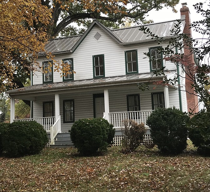 The Ellmore farmhouse is in the Floris Historic District on the Fairfax County Inventory of Historic Sites.