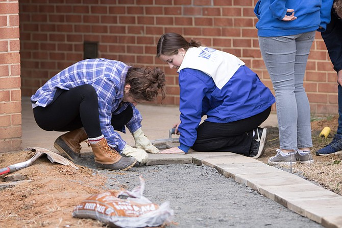 A Veterans Day of Service was held at West Potomac High School on Monday, Nov 12.