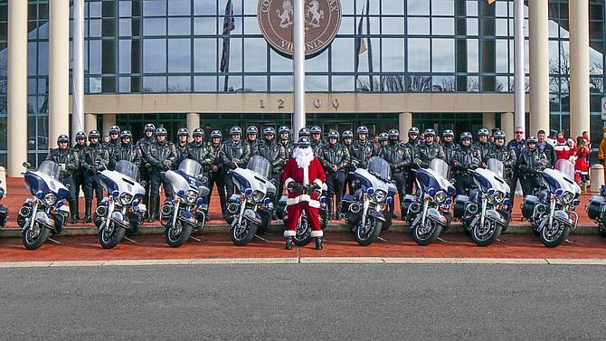 Santa's Ride 2017.