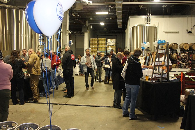 Greater Springfield Chamber of Commerce has an event at a local brewery for Small Business Saturday.