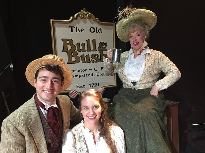 "MetroStage in Alexandria is presenting ""Christmas at the Old Bull and Bush"" from Nov. 29 to Dec. 30."
