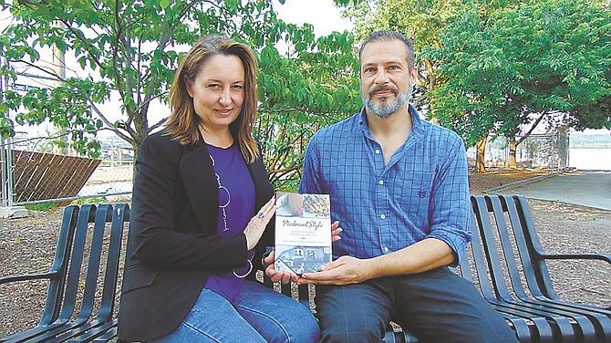 Cookbook authors and Mount Vernon residents Mauro Molino and Nicoletta Shane Scarnera.