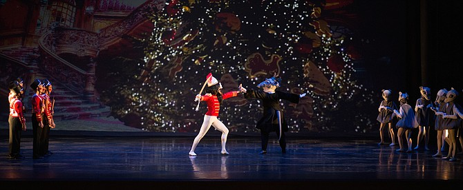 """The Nutcracker,"" a joint production of the Fairfax Symphony Orchestra and the Fairfax Ballet."