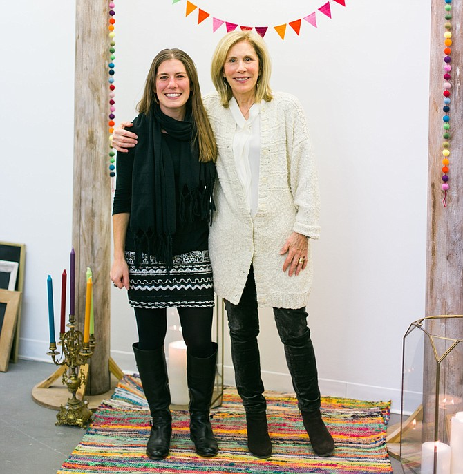 Judy Caplan and Anna Pollock, the mother-daughter founders of Field & Gown.