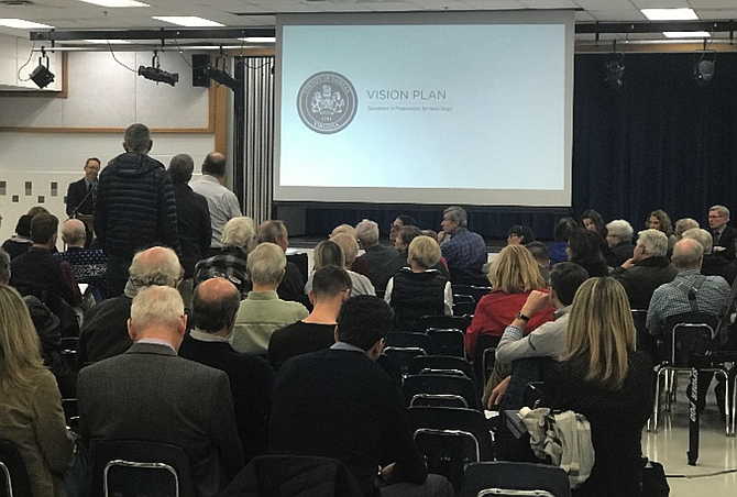 Over the last year, hundreds of residents and stakeholders have met at workshops and meetings organized by the county and its consultant to create a vision plan for downtown McLean.