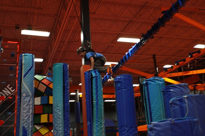 SkyZone opens doors for furloughed employees.