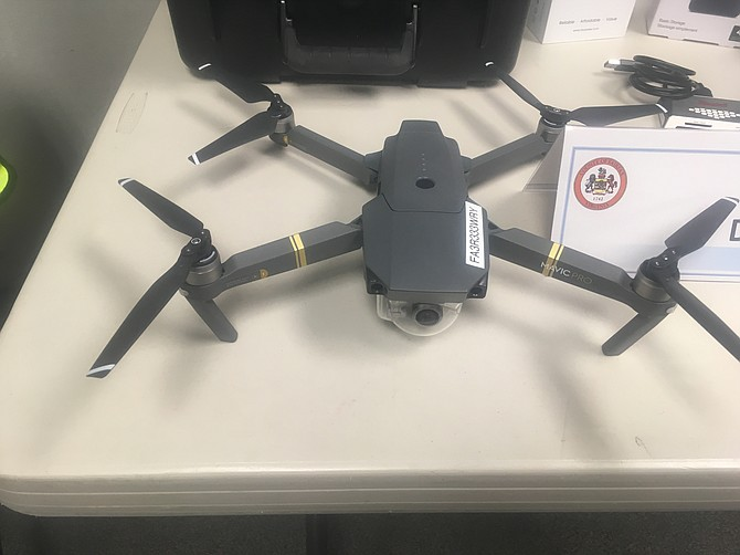 County looking to use drones.