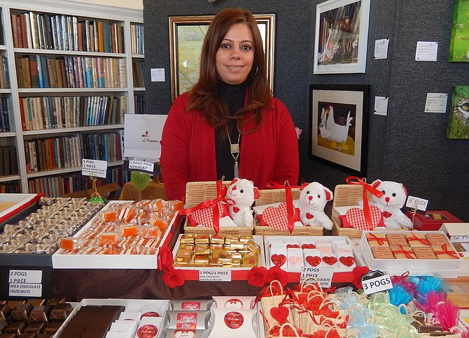 Vendor Hanadi Eljari of Le Papiyon Chocolatier will return this year.