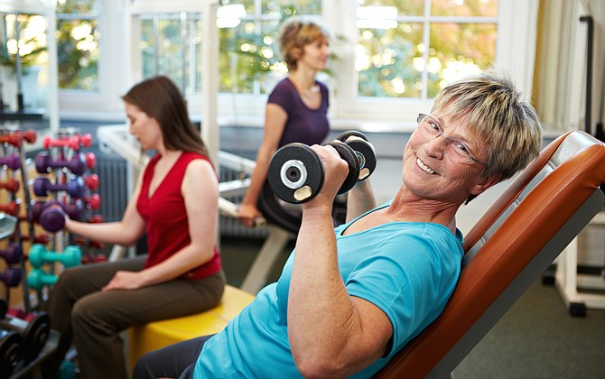 Strength-training exercises have the ability to increase muscle strength and mass and allow seniors to stay mobile longer.
