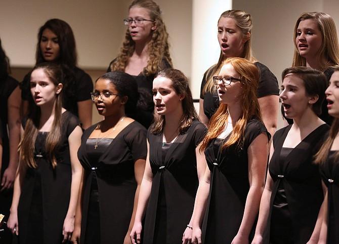 The Oakcrest Concert Chorus.