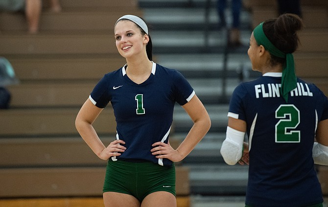 Flint Hill senior Krissy O'Malley has been named 2018-19 Gatorade Virginia Volleyball Player of the Year.