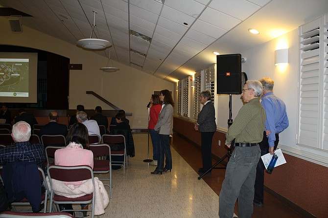 Questions came up at Braddock Road meeting.