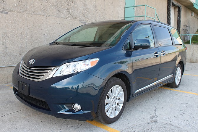 The vehicle in a fatal Jan. 27 traffic crash has been described as a dark 2011 Toyota Sienna, possibly blue.