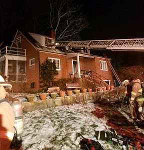 Cigarettes caused approximately $93,750 in damages to this Rose Hill house.