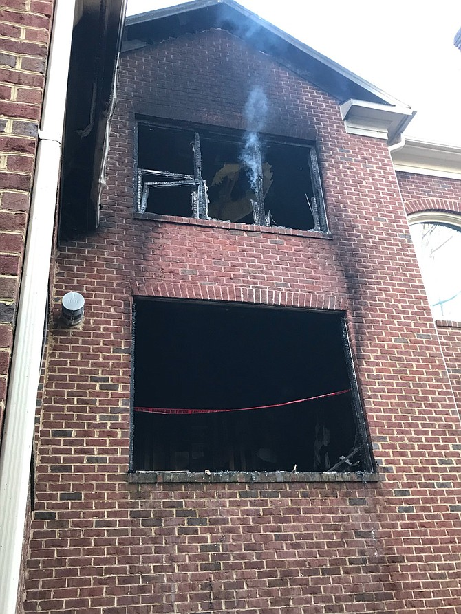 Overloaded power strip causes Clifton house fire.