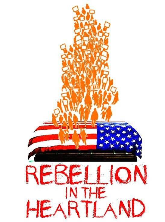 "A reading of ""Rebellion in the Heartland"" will be presented Monday, March 18, at 7:30 p.m. at MetroStage in Alexandria."