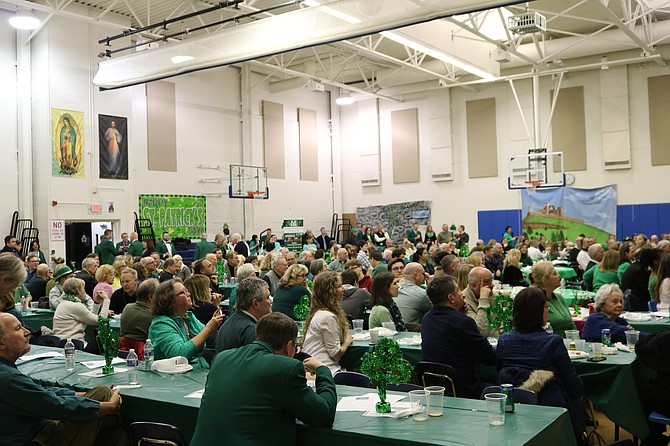 The Basilica of Saint Mary and the Frank Herbert-Pat Cady Division of the Ancient Order of Hibernians raised over $8,000 for Christ House during their annual Saint Patrick Irish Hooley on March 9. Entertainment was provided by musician Pat Garvey and the Boyle School of Irish Dance to the roughly 400 people who attended the sold-out celebration.