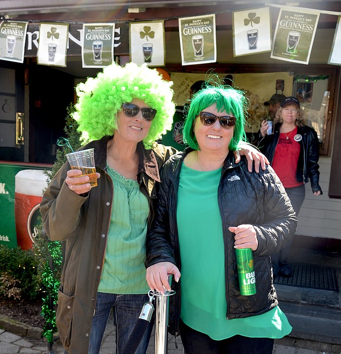 "Self-named ""Country Mouse"" Melissa and ""City Mouse"" Belinda are sisters who make a habit of celebrating St. Patrick's Day together, even if Melissa has to travel from their native New Zealand where ""Country Mouse"" still lives to hang with her local-living sister on the special day."