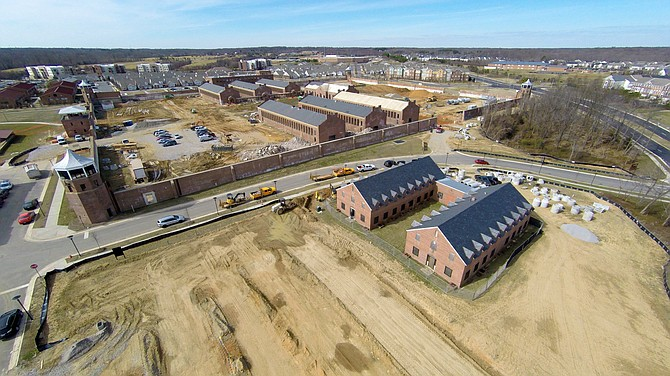 Alexander Company has broken ground on the final phase of apartments at the former Lorton Reformatory, now known as Liberty Crest.