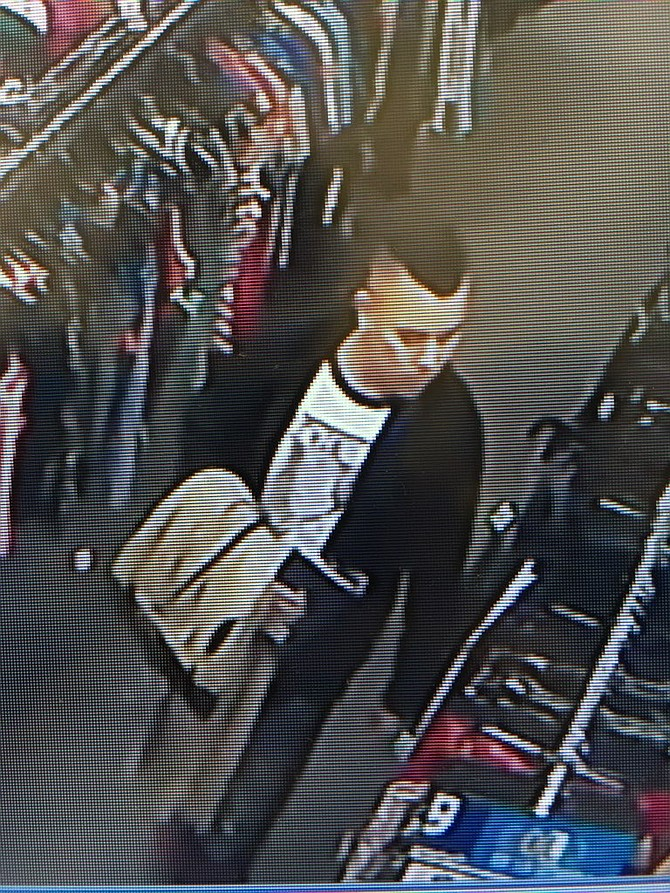 Police seek the public's help in identifying this man.