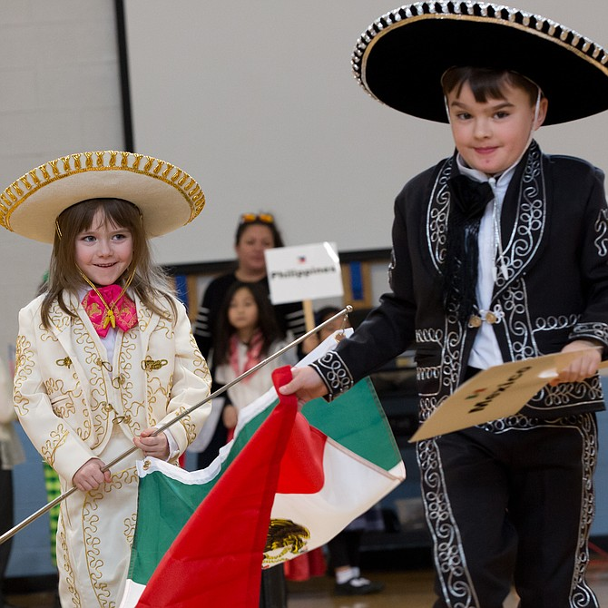 Countries represented at International Day included Mexico and South Korea.
