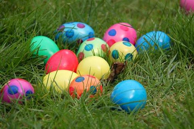 Egg hunts will be hatching at parks throughout Fairfax County in the month of April.