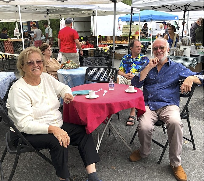 Kathleen Murphy and her husband Konstantine Tsombikos, 