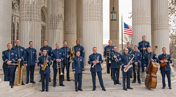"U.S. Air Force Airmen of Note will perform with Virginia Chamber Orchestra in presentation of ""Music in the Life of Eisenhower."""