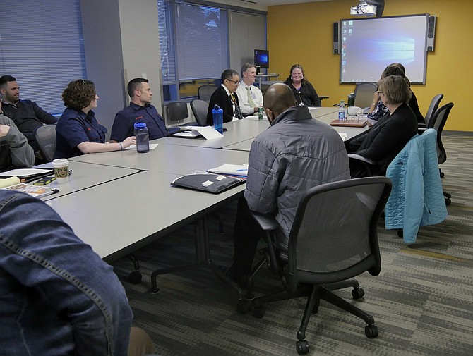 Meeting of Arlington Addiction Recovery Initiative (AARI) on March 28.
