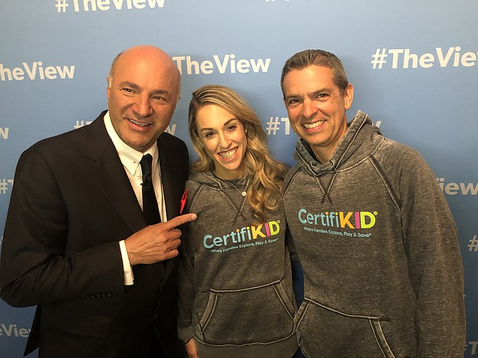 Jamie and Brian Ratner pitched their website CertifiKID on the ABC show Shark Tank, April 7, and got a deal.