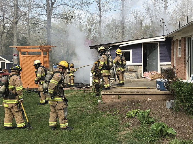 So far in 2019, there have been ten significant fires caused by improperly discarded smoking materials in Fairfax County. Monetary damages for the ten fires is approximately $933,713.
