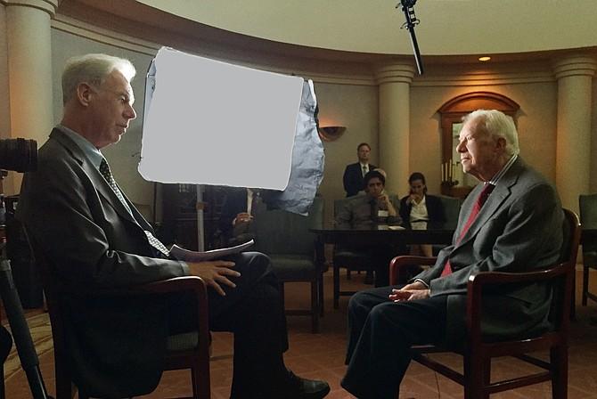 President Jimmy Carter and Martin Doblmeier interview.