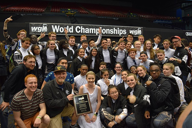South County's drumline band earns national recognition.