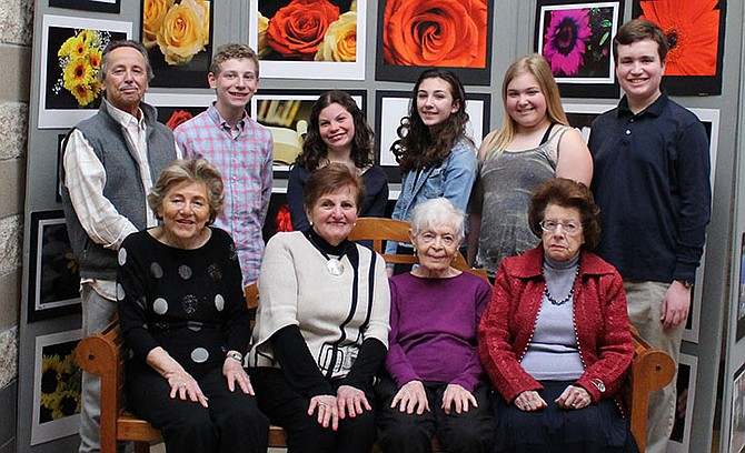 "Participants in ""Witness Theater"" will perform for Holocaust Day of Remembrance on Monday, May 6 at 7:30 p.m. The production will be held at the Charles E. Smith Jewish Day School, 11710 Hunters Lane, Rockville Maryland 20852."