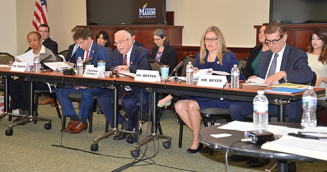 Members of the US House of Representatives Committee on Oversight and Reform Subcommittee on Government Operations, chaired by Gerry Connolly (D-11) held hearings at George Mason University to investigate the impact of the recent partial government shutdown on federal contractors.