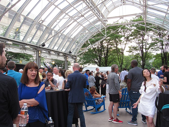 GRACE's Saturday night Festival Party attracts artists and supporters for the announcement of the 2019 M Group Artist Awards of Excellence and performance by Heidi Latsky Dance.