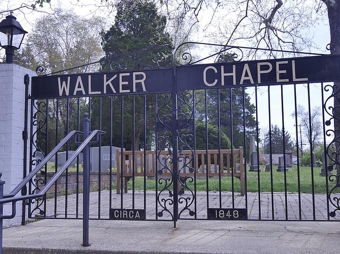 Historic Walker Chapel begins renovation.