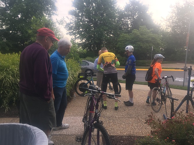Bike to Work Day is a hit in Kingstowne