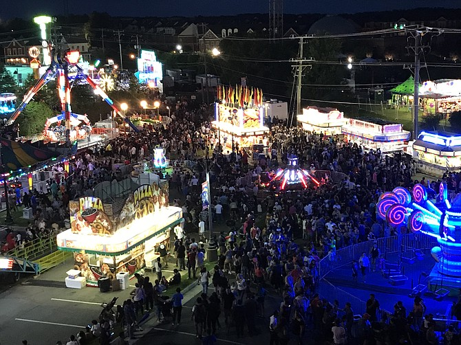 2018 Herndon Festival in the Historic Downtown District.