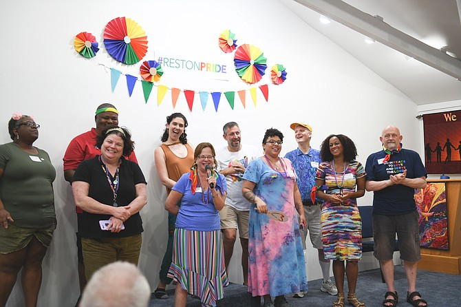The first Reston Pride Festival was held in 2018.