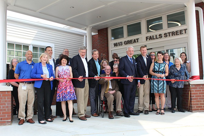 On Saturday, June 1, Fairfax County celebrated the grand opening of Phase Two of the Lewinsville Center.