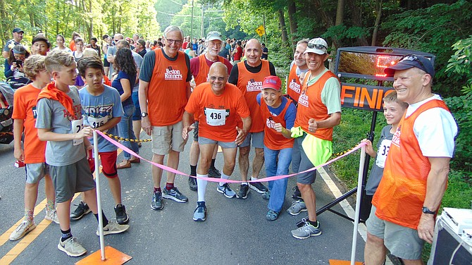 The Reston Runners provided the finish-line services and race results.