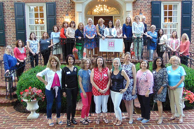 Members of the New Dominion Woman's Club for 2019.